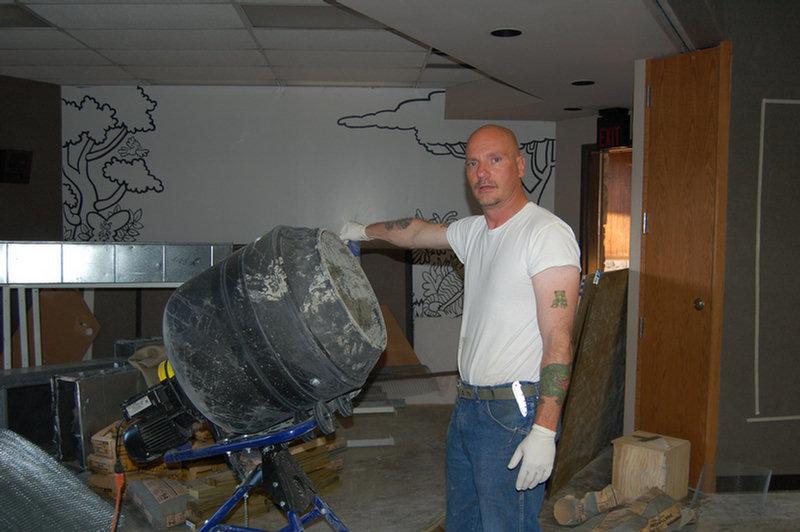 kobalt concrete mixer