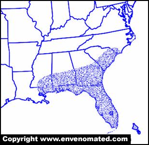 rattlesnake range map